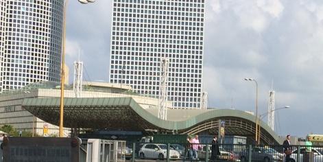 תחנת רכבת השלום בתל אביב. צילום: דניאל קמחי